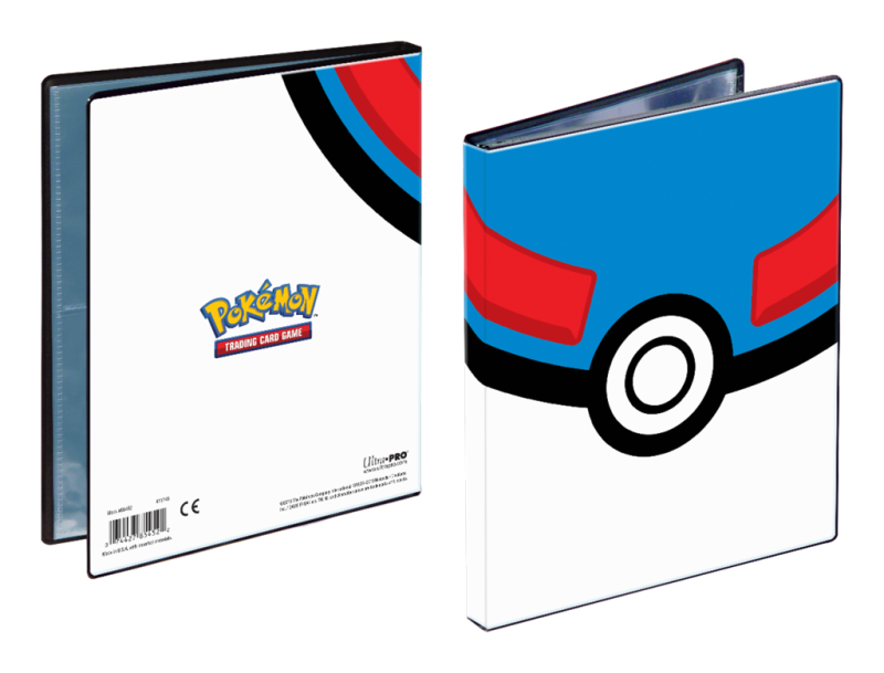 Pro Binder Pokémon Great Ball 4 Pocket