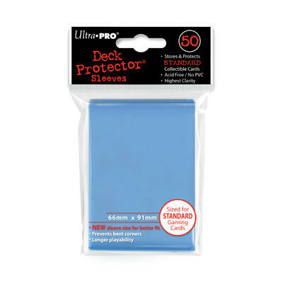 Ultra Pro Sleeves Light Blue (50 stuks)
