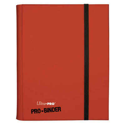 Pro Binder Rood 9 Pocket leather look