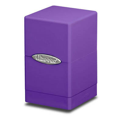 Deckbox Satin Tower Purple