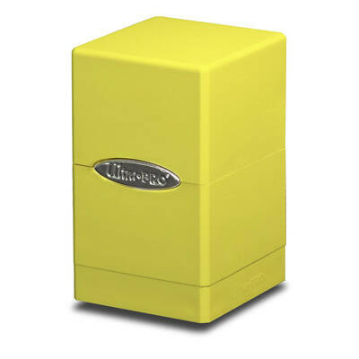 Deckbox Satin Tower Bright Yellow