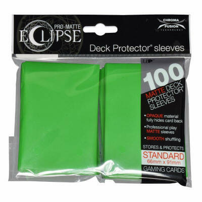 Ultra Pro Eclipse Lime Green (100 stuks)