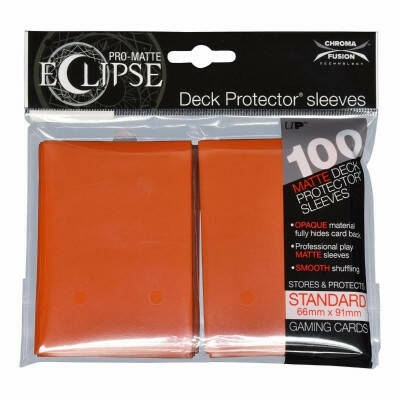 Ultra Pro Eclipse Pumpkin Orange (100 stuks)