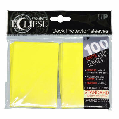 Ultra Pro sleeves Eclipse Lemon Yellow (100 stuks)