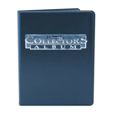 4-Pocket Portfolio Collectors Album Blauw