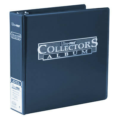 Collector's album binder blauw