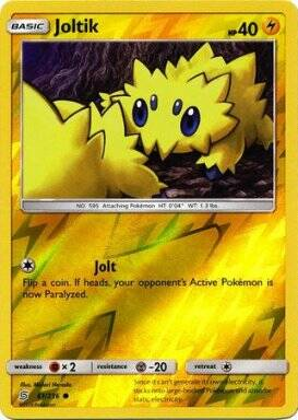 Joltik -61/236- S&M Unified Minds - Common Reverse Holo