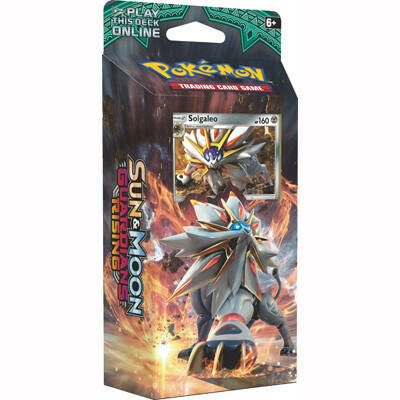 Sun & Moon Guardians Rising Theme Deck Solgaleo