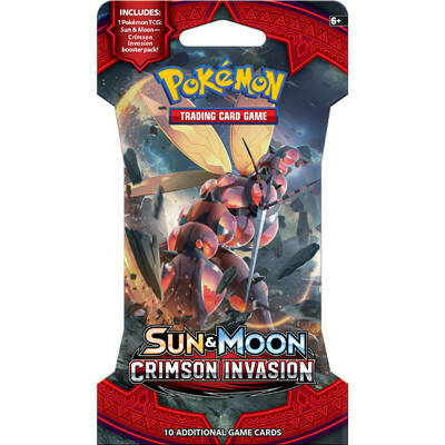 Sun & Moon Crimson Invasion Sleeved Boosters