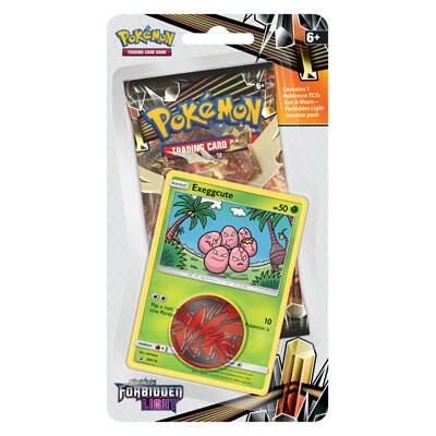 Sun & Moon Forbidden Light - Checklane Blister Exeggcute
