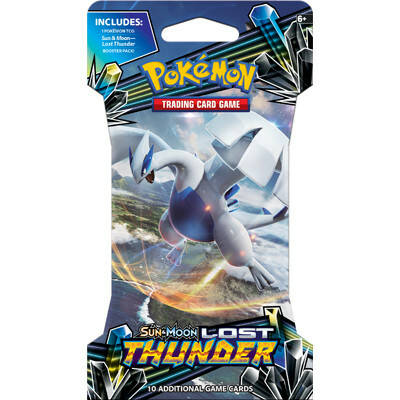 Sun & Moon Lost Thunder Sleeved Booster
