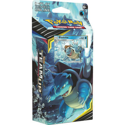 Sun & Moon Team Up Team Deck Blastoise