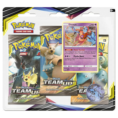 Sun & Moon Team Up Booster Blister Deoxys