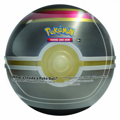 Pokemon Pokeball Tin 2019 Luxury Pokéball