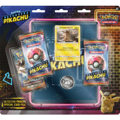 Detective Pikachu Special GX Case File + Map