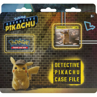 Detective Pikachu Case File 3-pack Blister