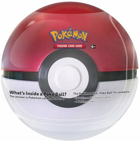 Pokemon Pokeball Tin 2019 Classic