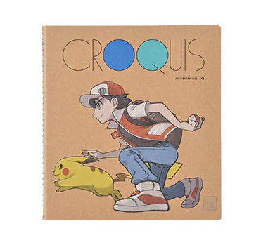 Officiële Pokémon Center Ash & Pikachu Notebook