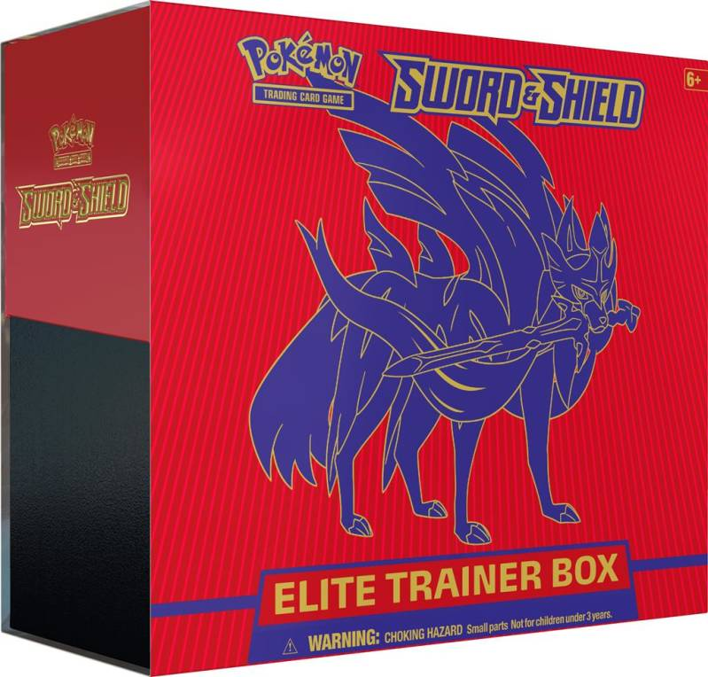 Pokémon TCG Sword & Shield Elite Trainer Box ROOD