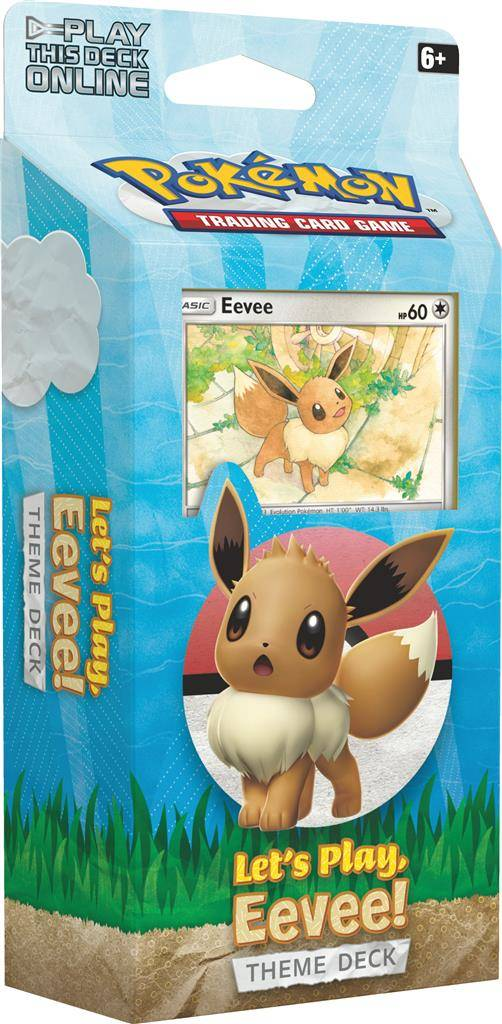Theme Deck Lets Play Eevee