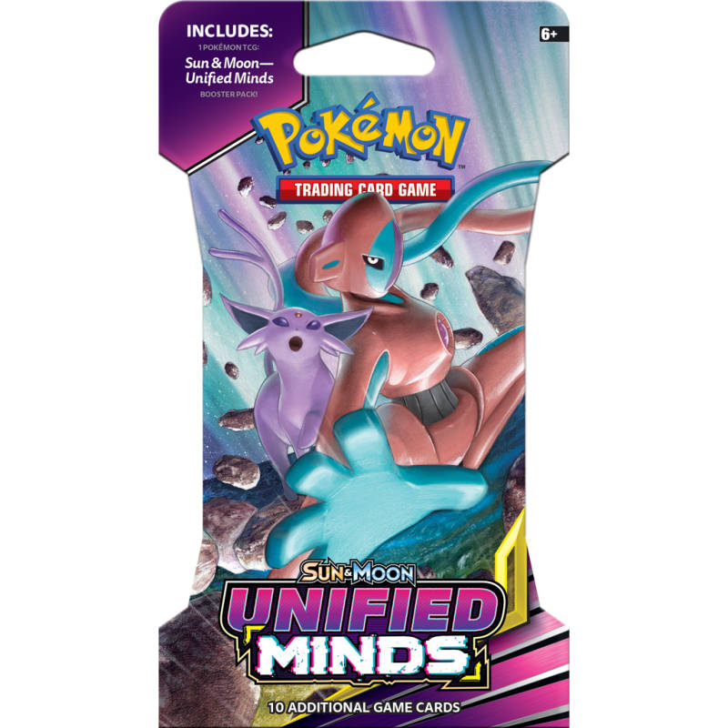Pokémon Unified Minds Sleeved Booster