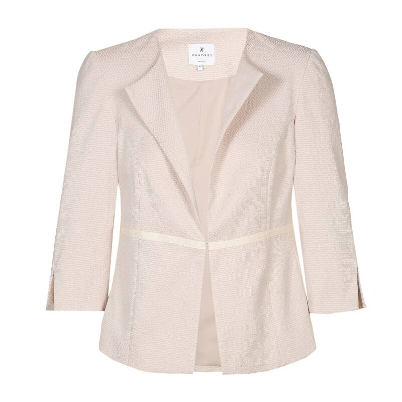 Xandres Gold - Blazer in zandkleur (BACIA/01593)
