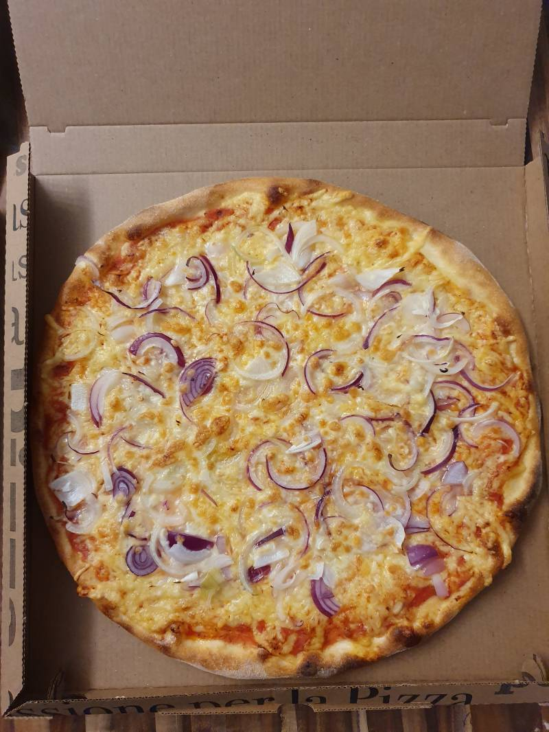 Pizza Double Cheese & Onion