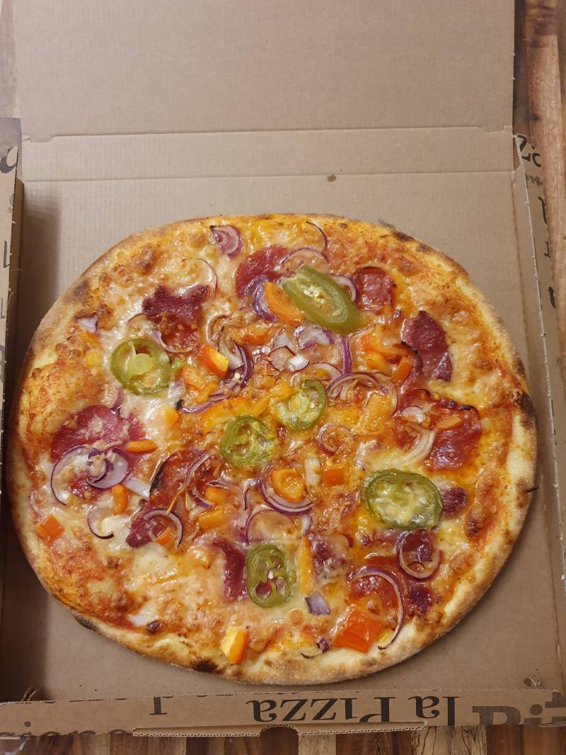 Pizza Mexican Hot & Spicy