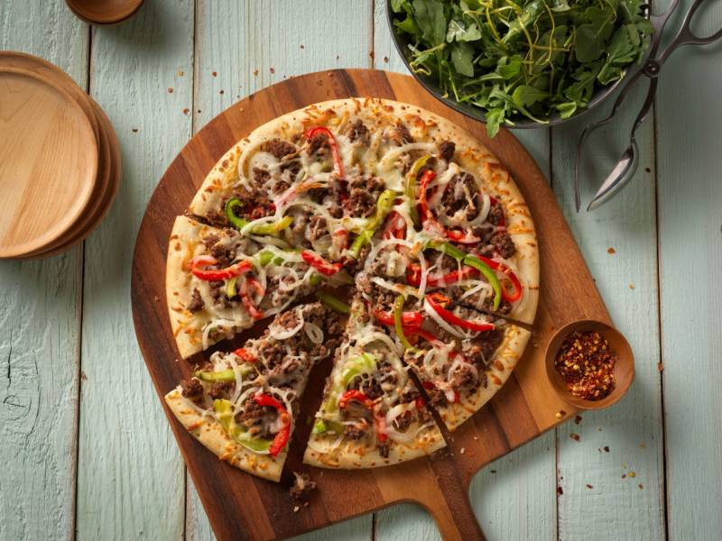 Pizza Beef Special