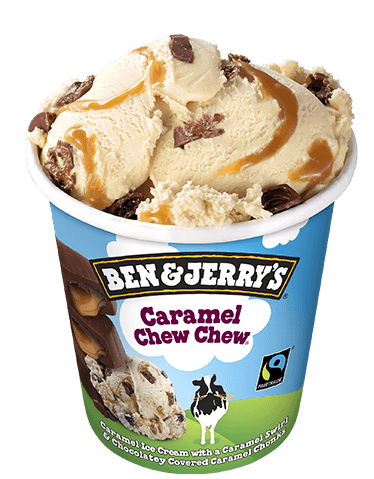Ben & Jerry Caramel Chew Chew 500ml