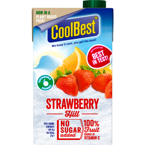 Coolbest Strawberry Hill 500ml.