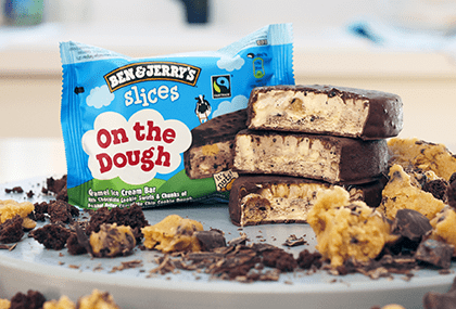 Ben & Jerry Slices On The Dough