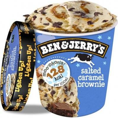 Ben & Jerry Salted Caramel Brownie 500ml.