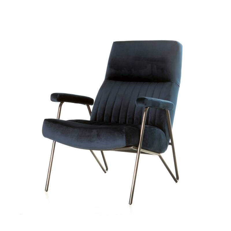 Eleonora Fauteuil William - Blauw