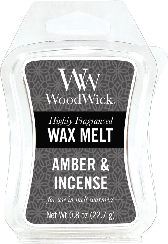 Woodwick Amber & Incense Melt