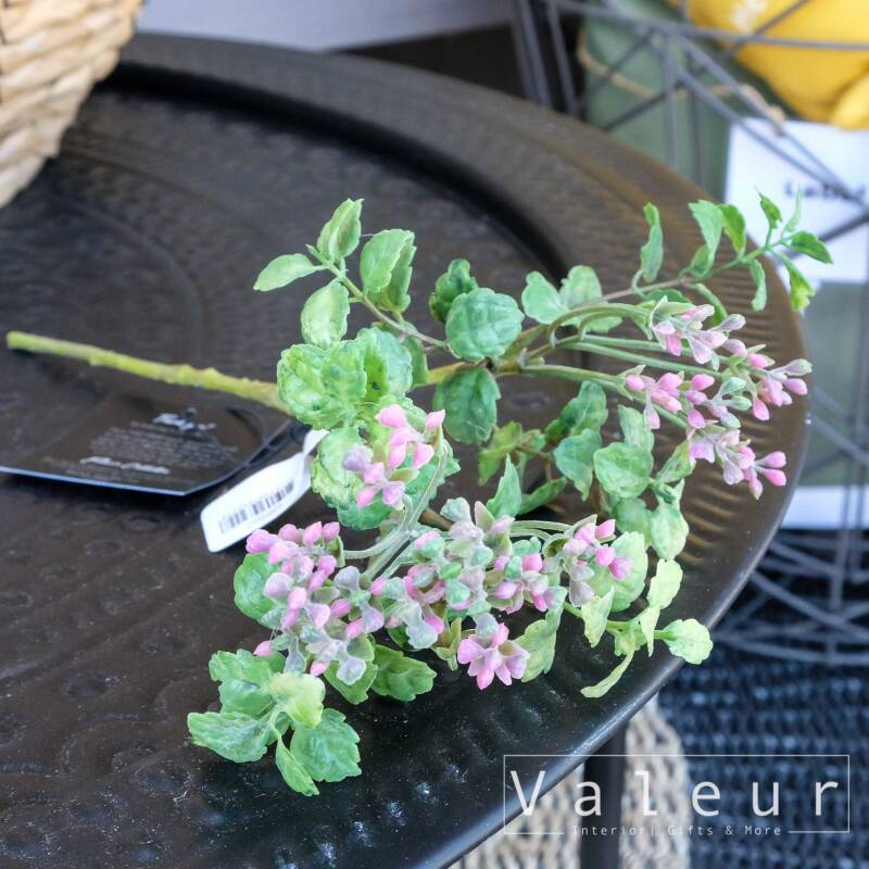 PTMD Collection Garden bloem pink pieris buds with leaf Spray