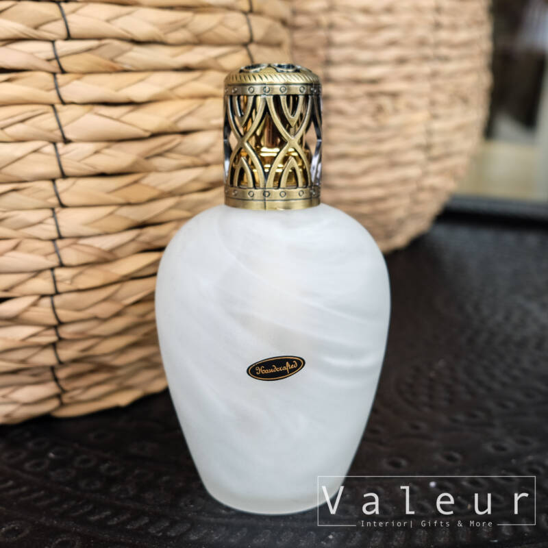 Ashleigh & Burwood Mat White Large Fragrance Lamp