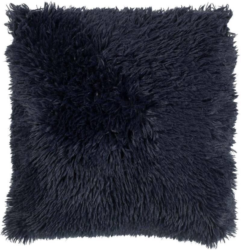 Dutch Decor Sierkussen Fluffy 45x45cm - Donkerblauw