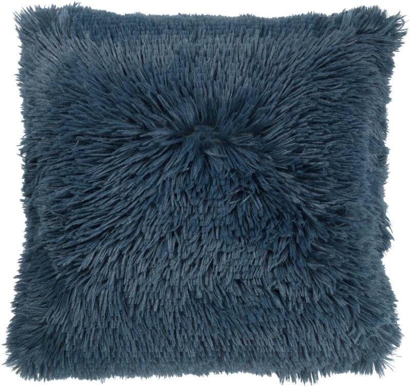 Dutch Decor Sierkussen Fluffy 45x45cm - Smaragd