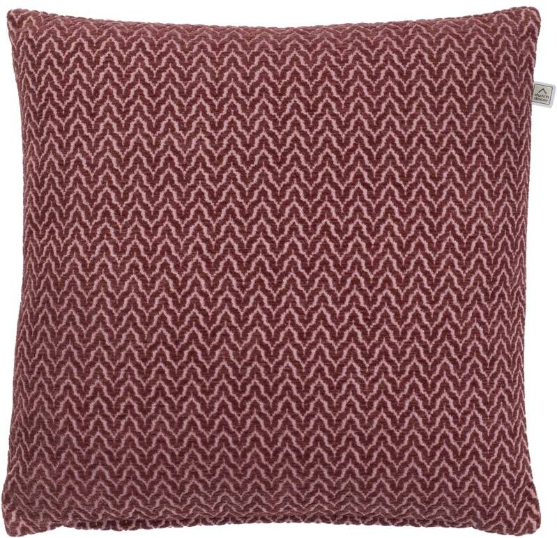 Dutch Decor Sierkussen Hilke 45x45cm - Bordeaux