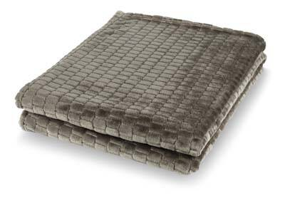 Dutch Decor Plaid Mayke 150x200cm - Taupe