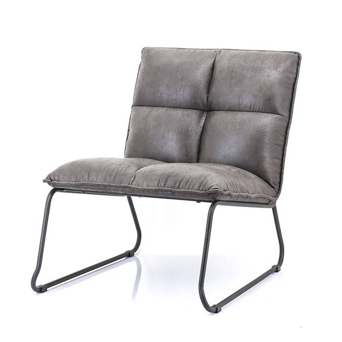 Eleonora Fauteuil Ruby - Topper Antraciet