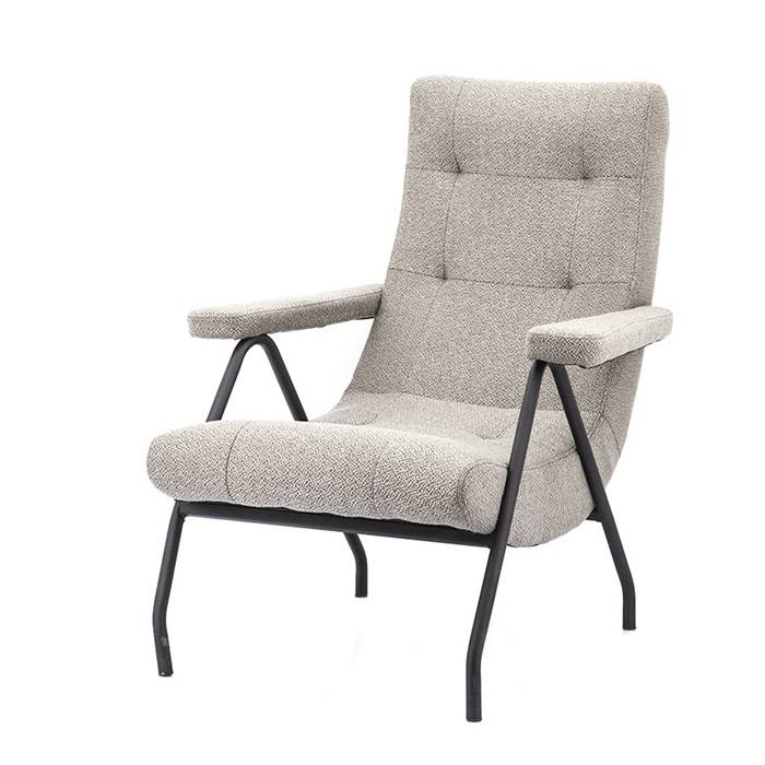 Eleonora Fauteuil Victor - Taupe