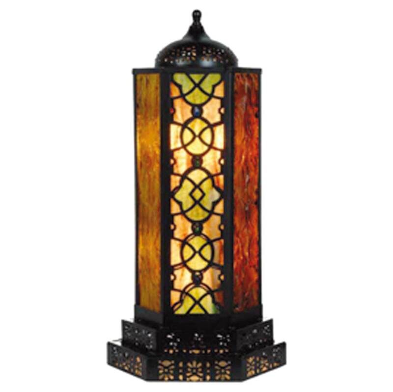 "TIFFANY LAMP ""ARABESQUE"""