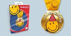 SMILEY WORLD Medaille