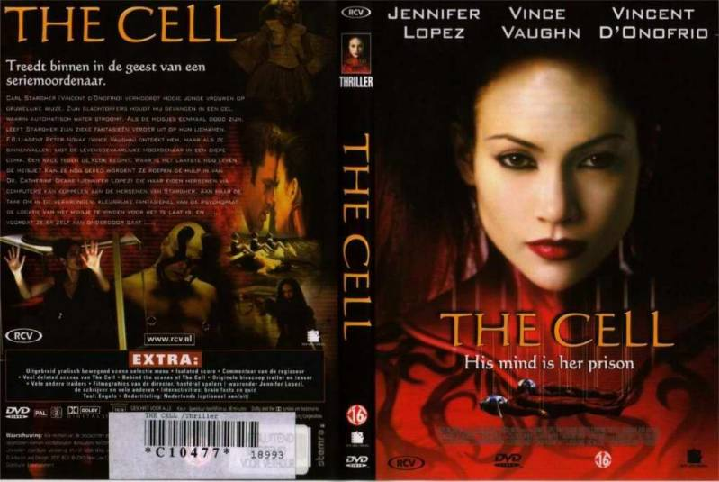 DVD - THE CELL (Jennifer Lopez)