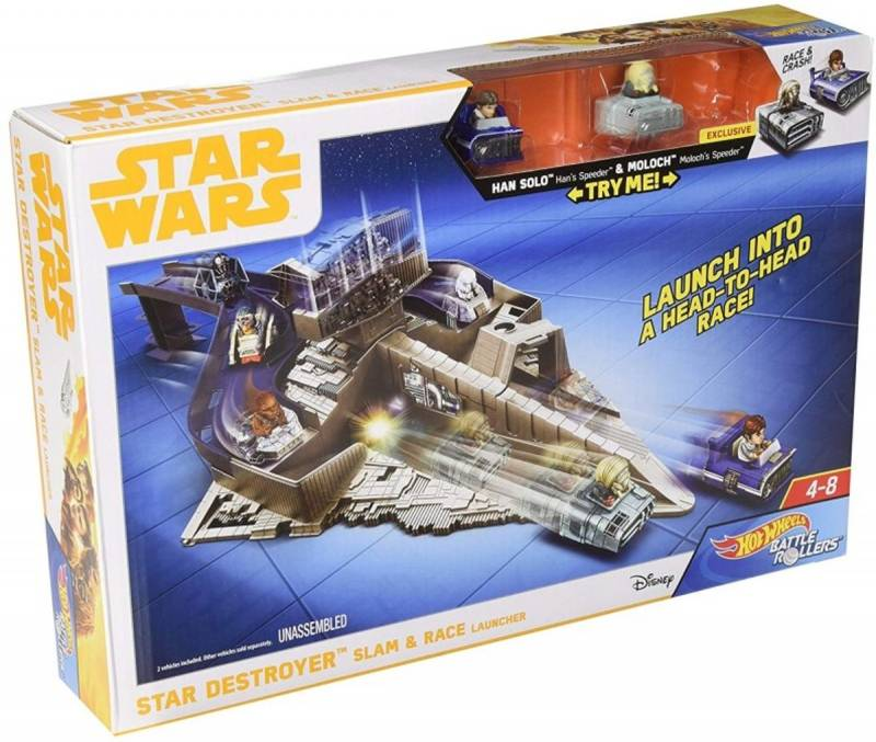 STAR WARS - HOTWHEELS - battle rollers