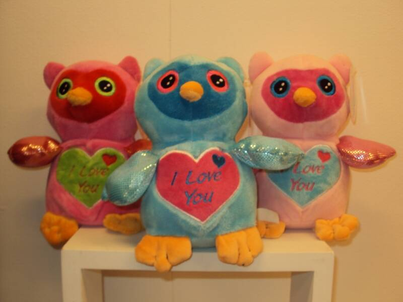 "KNUFFEL UIL ""I LOVE YOU"""