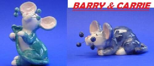 SET BARRY & CARRIE - whimsi clay collection