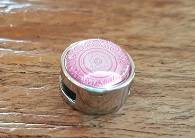 12mm Rose Mandala Fantasie Schuiver